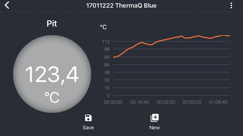 ThermaQ Blue - de App
