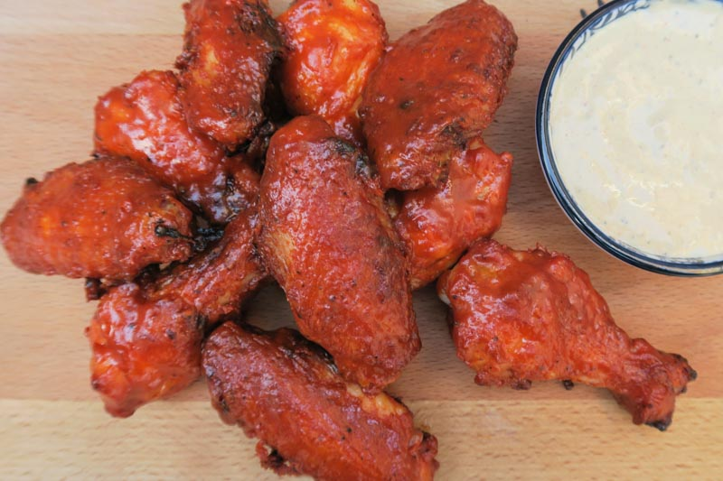 Koreaanse kippenvleugels