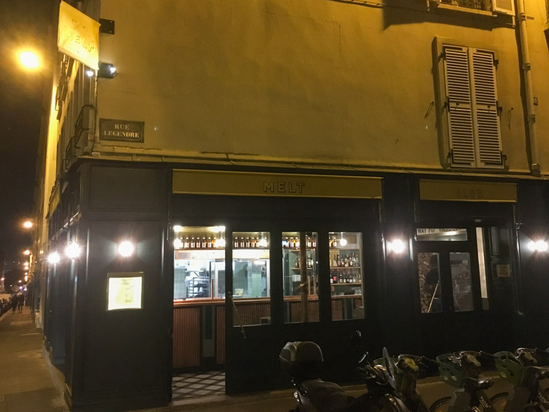 Melt, Parijs