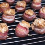 Pig shots van de barbecue