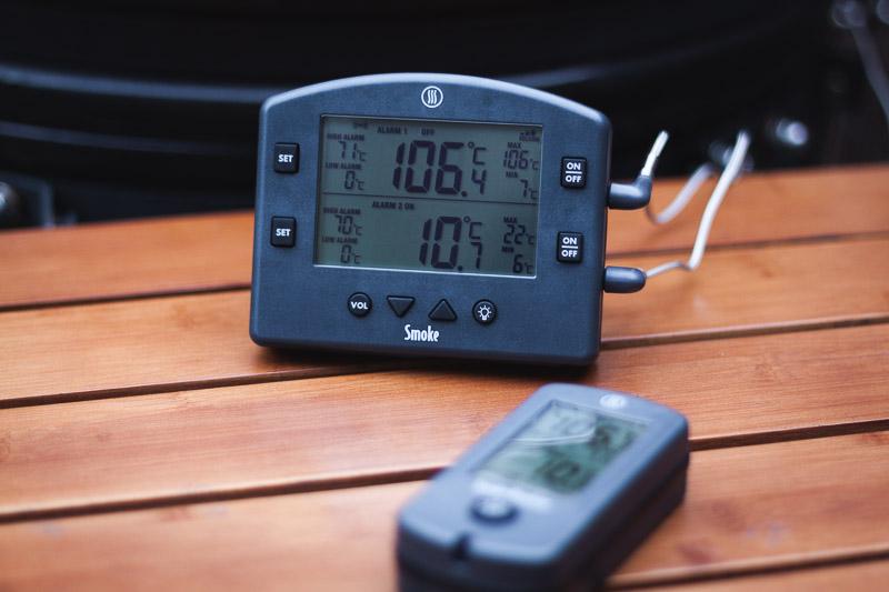 Smoke Draadloze Barbecuethermometer