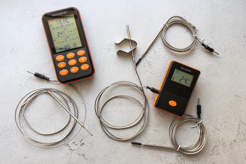 Draadloze Inkbird thermometer