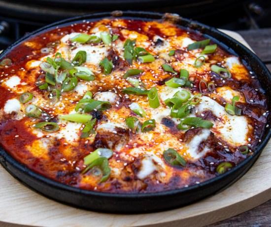 Buldak, Koreaanse hete kip