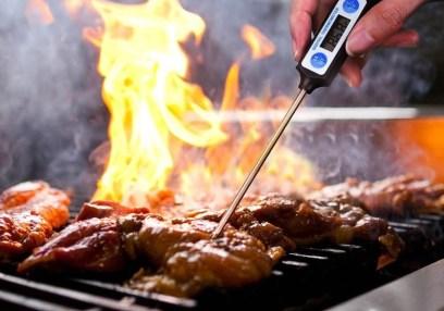 termómetro para carne