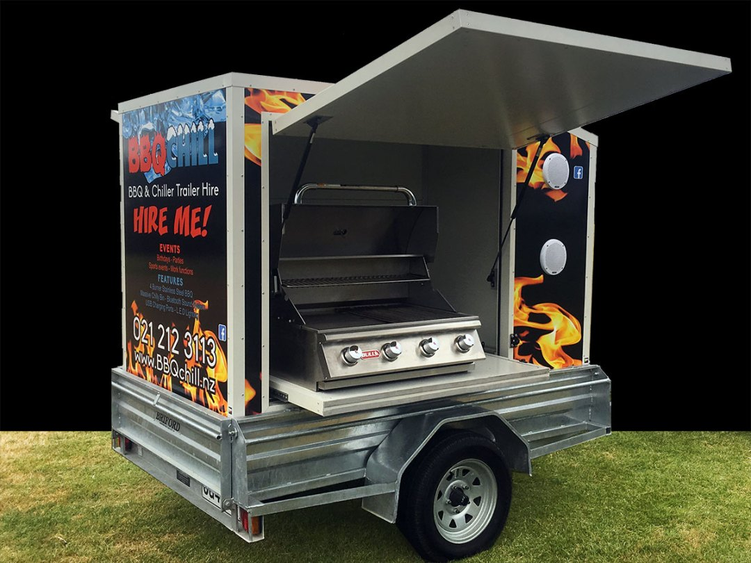 BBQ & Chiller Trailer for your party