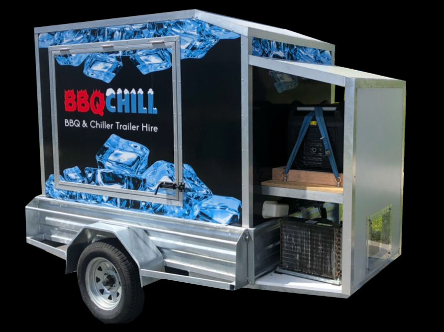 Chiller trailer to hire in Nelson