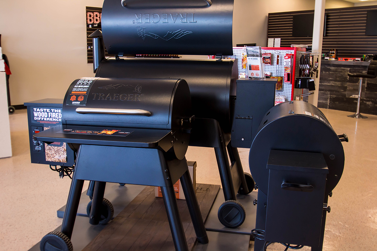 Traeger Professional Smokers Sold at BBQ Concepts of Las Vegas, Nevada