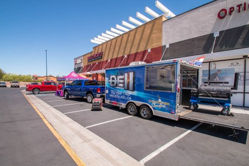 The Official Grand Opening of BBQ Concepts - Mix 94.1 & Chef Phillip Dell BBQ Truck