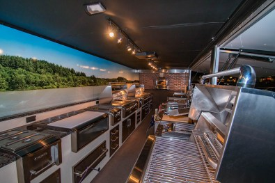 Alfresco Open Air Culinary System Trailer by the Almo Corporation