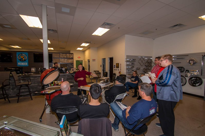 An Amazing Holiday Grilling Class at BBQ Concepts of Las Vegas, Nevada - Instructed by Chef Phillip Dell
