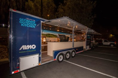 Almo Corporation Alfresco Open Air Culinary System Trailer