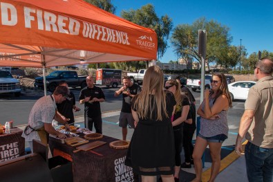 Traeger Demonstration at BBQ Concepts of Las Vegas, Nevada