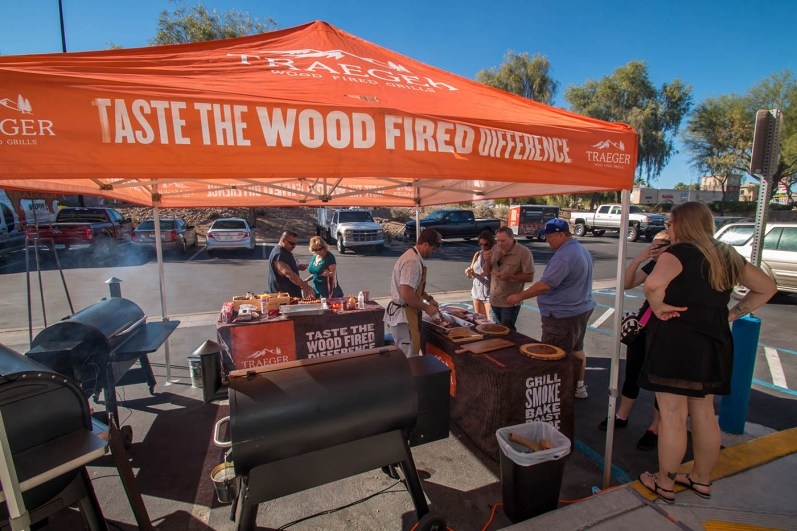 Traeger Wood Pellet Grill Demo Day 2017