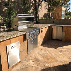 Custom Outdoor Kitchens Cheap Kitchen Towels Fireplace And Living