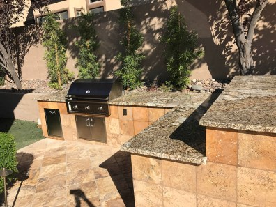 Beautiful Custom Outdoor Kitchen by BBQ Concepts of Las Vegas, Nevada
