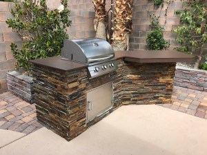 Summerset Sizzler 26 Inch Built-in Grill - Built-in Grill inside Barbecue Island