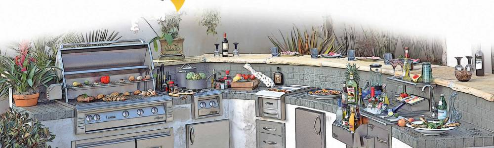What Outdoor Kitchen Design & Layout Do You Want? BBQ Concepts of ...
