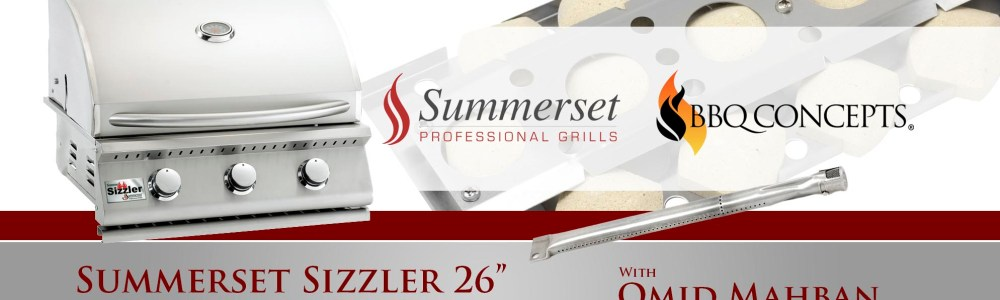 "Summerset Sizzler 26"" Built-In Barbecue Grill Review"