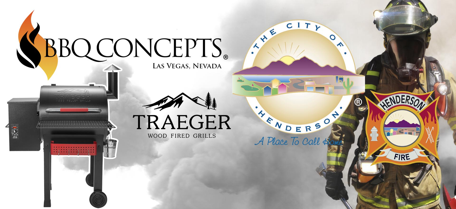 BBQ Concepts & Traeger Fire Fighter Appreciation Program