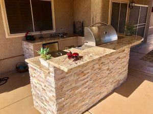 Barbecue Island Design and Manufacturing by BBQ Concepts Las Vegas, Nevada
