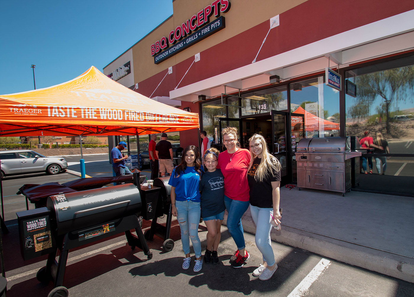 Saturday, May 12th, 2018 - National Traeger Day at BBQ Concepts