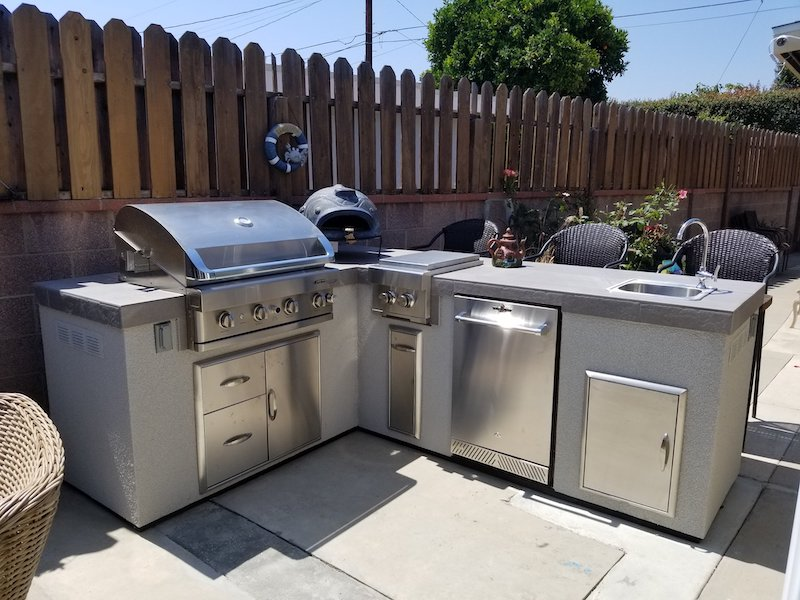 outdoor kitchen sink and faucet buying