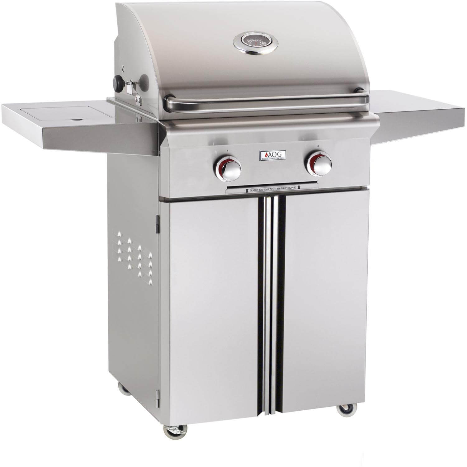 outdoor kitchen with freestanding grill ikea hardware american grills t series 24