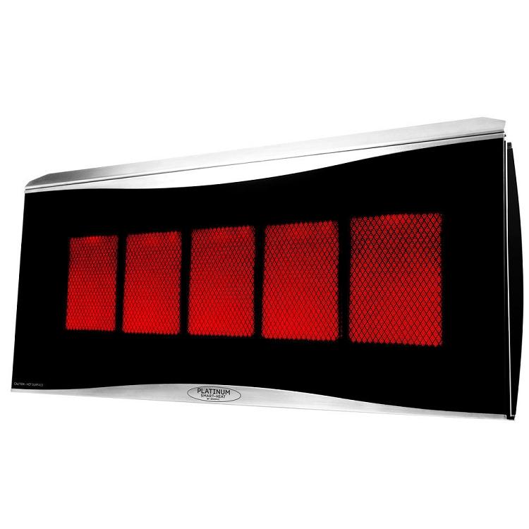 Bromic 500 Platinum Patio Heater  Natural Gas