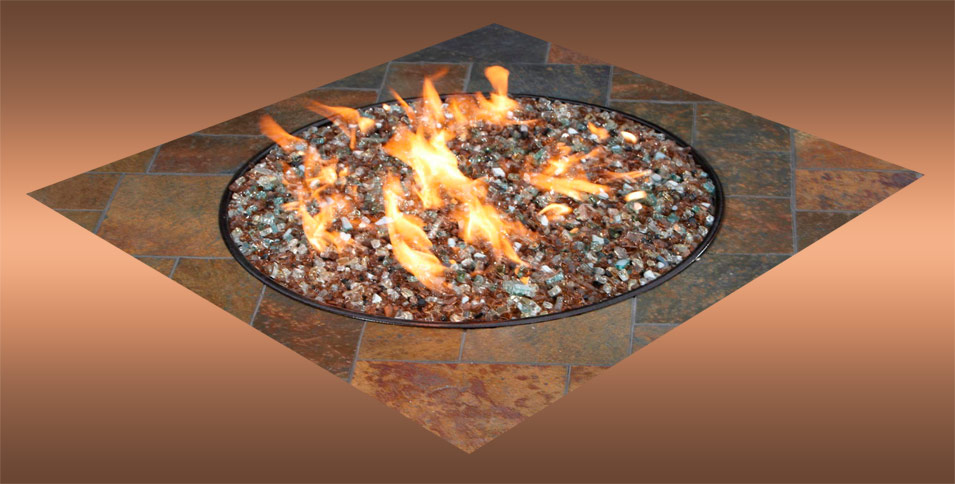 The Fire Glass San Diego Homeowners Choose for Luster and Brilliance