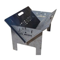 Made in Australia - The Wedge Portable Fire Pit | eBay