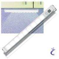 Lunartec LED Lichtleiste mit Bewegungsmelder - kaltwei ...