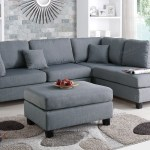 Sectional Sofa W Ottoman F7606