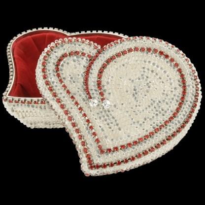 bb Simon Swarovski crystal jewelry box J-707