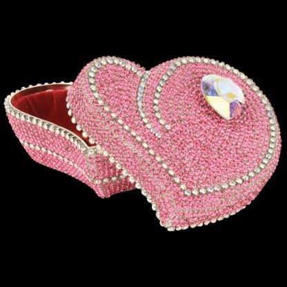 bb Simon Swarovski crystal jewelry box J-708