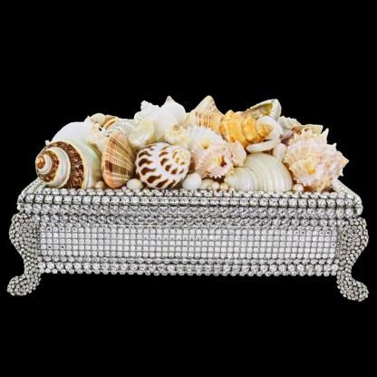 bb Simon Swarovski crystal jewelry box J-717