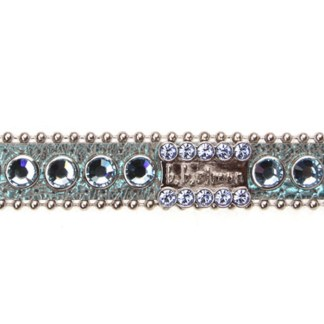 B.B.SIMON DOG Maximus Rhinestone Pet Collar