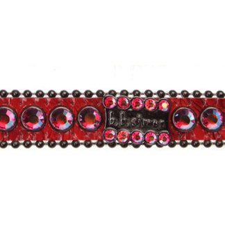 B.B.SIMON DOG Pepper Swarovski Crystal Dog Collar
