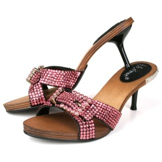 B.B.SIMON SHOES 3881-ROSE