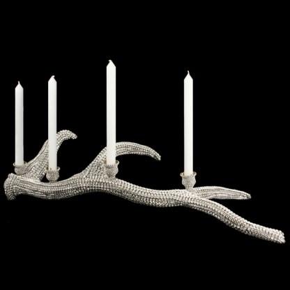 CDH-220 bb Simon Swarovski crystal Candle holder