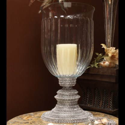 CDH-236 bb Simon Swarovski crystal Candle holder