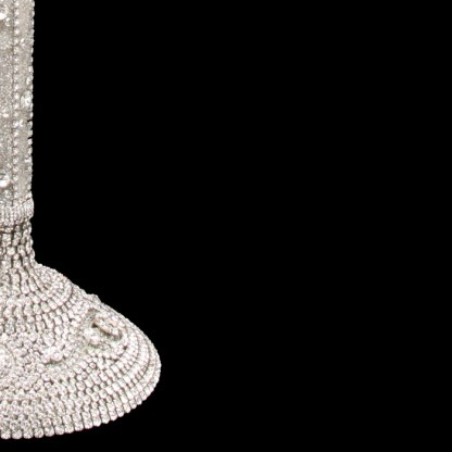 CDH-242 bb Simon Swarovski crystal Candle holder
