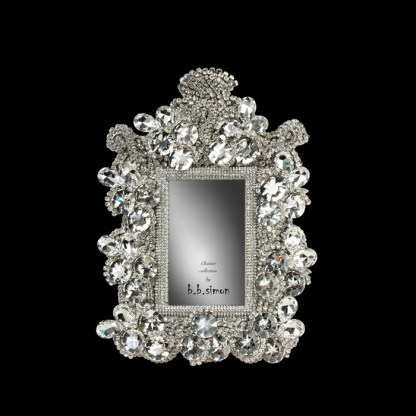 F-101-S bb Simon Swarovski crystal frame