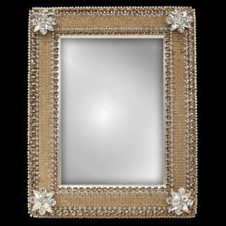 F-120-L bb Simon Swarovski crystal frame