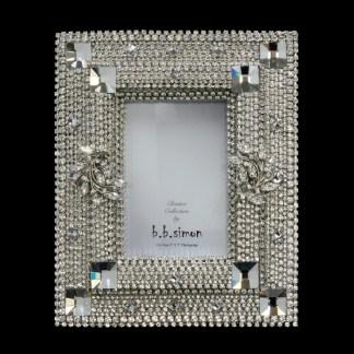 F-146-CLEAR-M bb Simon Swarovski crystal frame