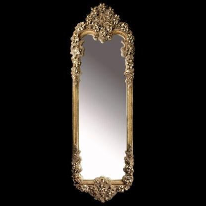 M-306-27 BB Simon Gold Swarovski Full Length Mirror