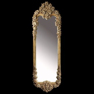 M-306-27 BB Simon Gold Swarovski Full Length Mirror