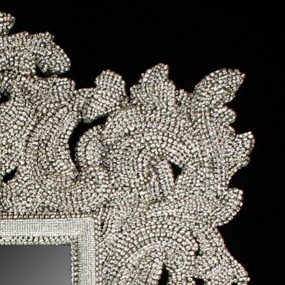 M-503 BB Simon USA Jeweled Bling Mirror