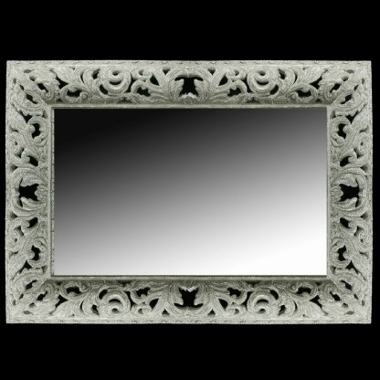 M-506 BB Simon Blinged Rectangle Wall Mirror