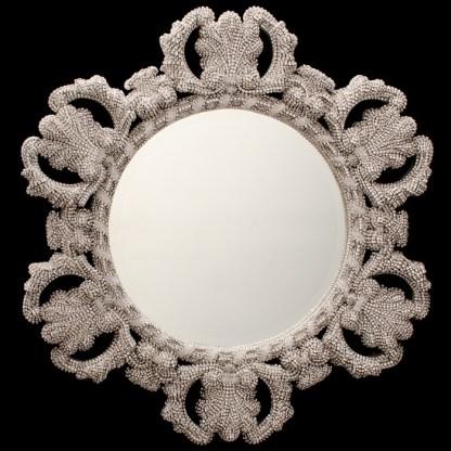 M-516-CLEAR BB Simon Authentic Central Diamond Mirror
