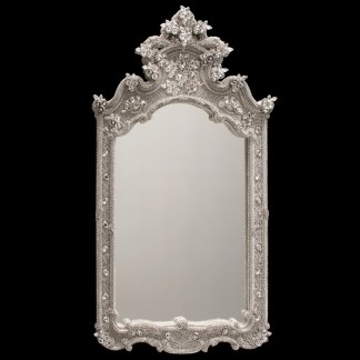 M-522 BB Simon Royal Framed Jewel Mirror